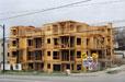 Condominium Construction, Vancouver BC 1996 Roy Arden